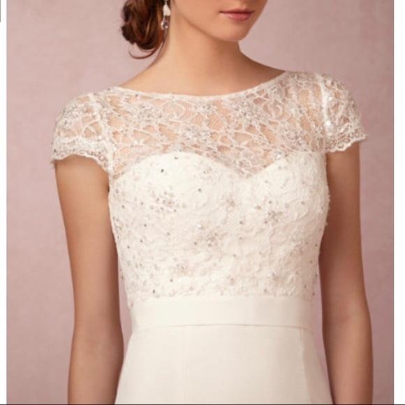 78b5cd56183 BHLDN Dresses   Skirts - BHLDN Jenny Yoo Luciana Topper size XL